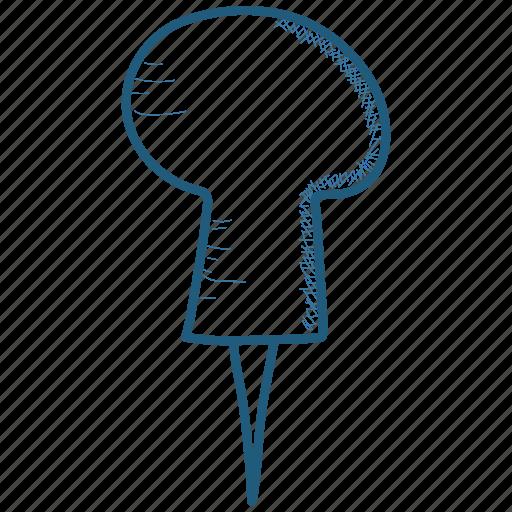 Pin, tack, thumbtack icon - Download on Iconfinder