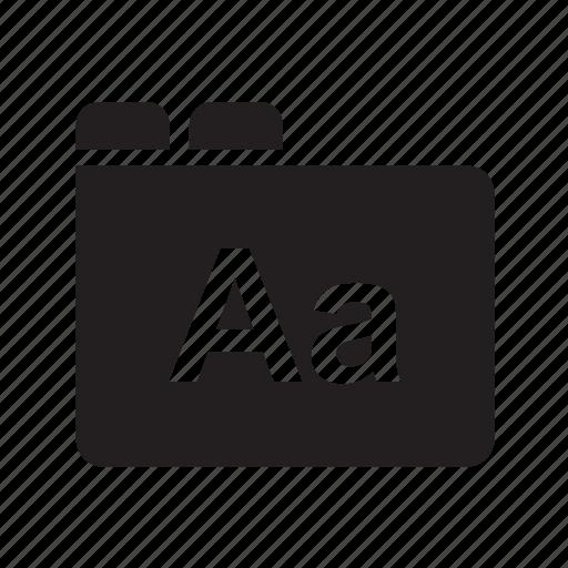 document, file, graphic design, typo, typography icon