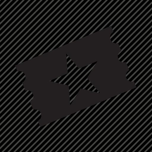 show, star, ticket icon