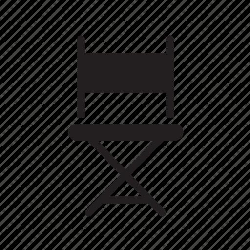 chair, cinema, director, director's, directors, movie icon