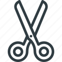 cut, tool, handcraft, scissor, cutting, barber, crafts icon