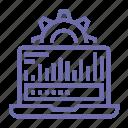 analytics, chart, data, statistics icon