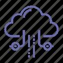 cloud, data, database, storage icon