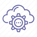 cloud, computing, storage, upload icon
