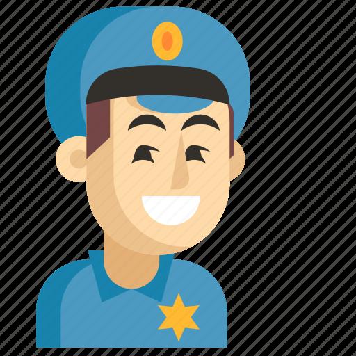 Asia, avatar, job, man, policeman, profession, work icon - Download on Iconfinder