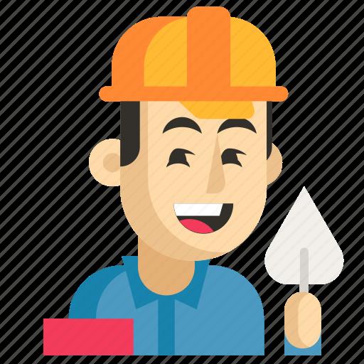 Asia, avatar, builder, job, man, profession, work icon - Download on Iconfinder