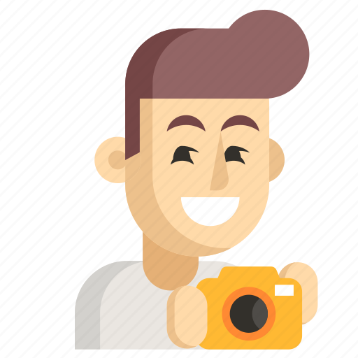 Asia, avatar, job, man, photographer, profession, work icon - Download on Iconfinder