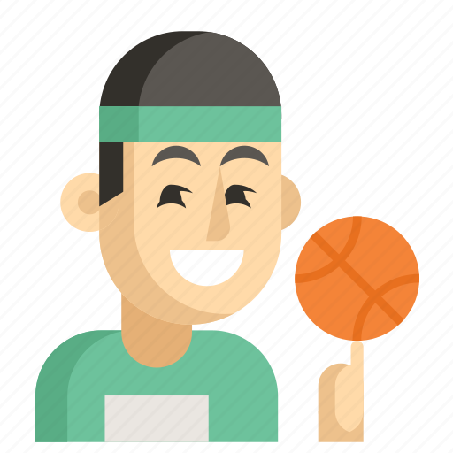 Asia, athlete, avatar, job, man, profession, work icon - Download on Iconfinder