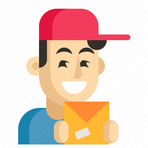 Asia, avatar, courier, job, man, profession, work icon - Download on Iconfinder