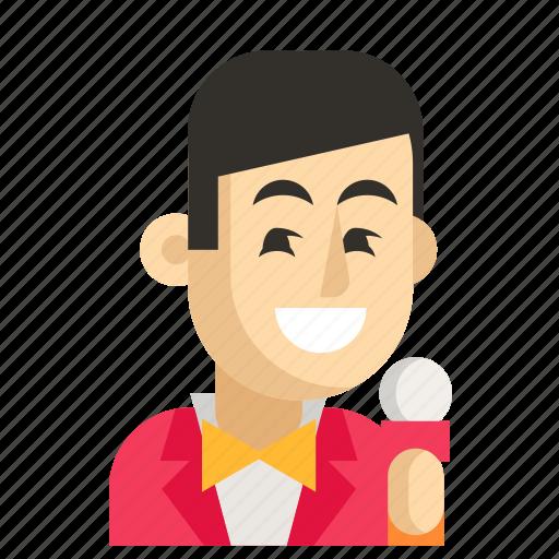 Asia, avatar, job, man, profession, showman, work icon - Download on Iconfinder