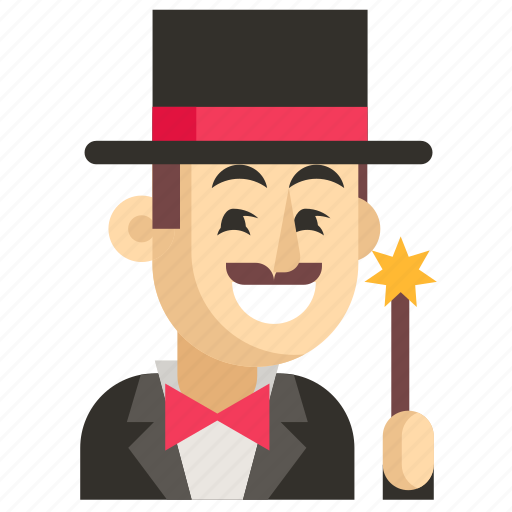 Asia, avatar, job, magician, man, profession, work icon - Download on Iconfinder