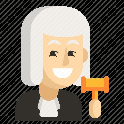 Asia, avatar, job, judge, man, profession, work icon - Download on Iconfinder