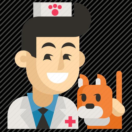 Asia, avatar, job, man, profession, veterinarian, work icon - Download on Iconfinder