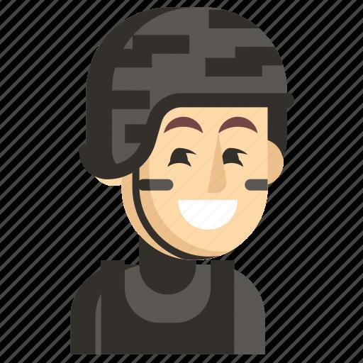 Asia, avatar, job, man, profession, swat, work icon - Download on Iconfinder