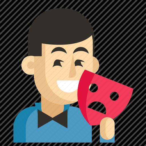 Actor, asia, avatar, job, man, profession, work icon - Download on Iconfinder