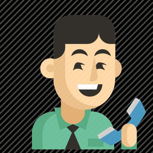 Asia, avatar, job, man, profession, secretary, work icon - Download on Iconfinder