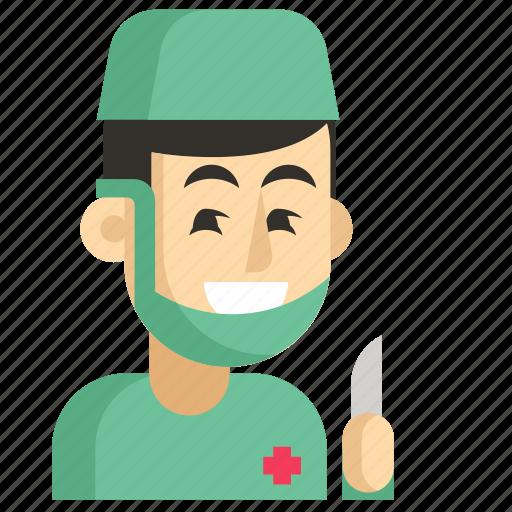 Asia, avatar, job, man, profession, surgeon, work icon - Download on Iconfinder