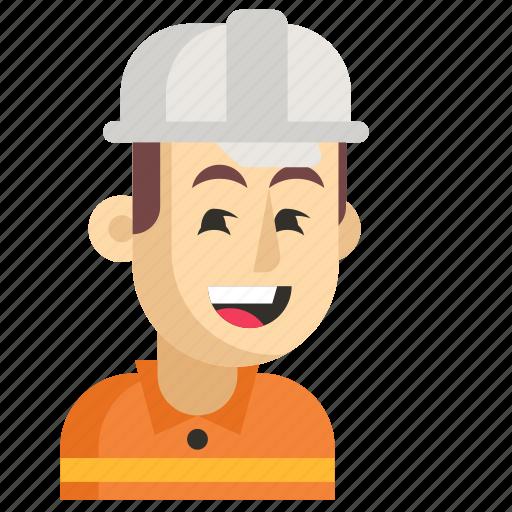 Asia, avatar, job, man, profession, road worker, work icon - Download on Iconfinder
