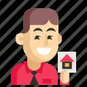 agent, asia, avatar, job, man, profession, work icon