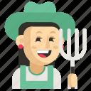 asia, avatar, farmer, job, profession, woman, work