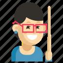 asia, avatar, job, profession, teacher, woman, work