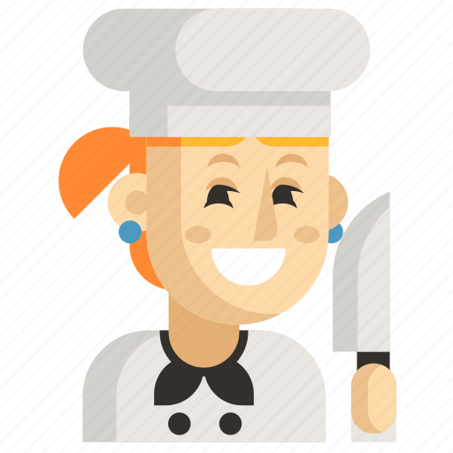 Asia, avatar, chef, job, profession, woman, work icon - Download on Iconfinder