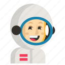 asia, astronaut, avatar, job, profession, woman, work