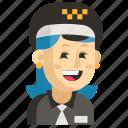 asia, avatar, job, profession, taxi driver, woman, work