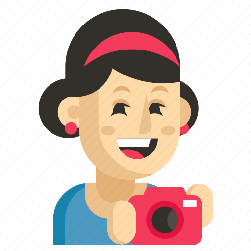 Asia, avatar, job, photographer, profession, woman, work icon - Download on Iconfinder
