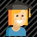 asia, avatar, job, profession, student, woman, work