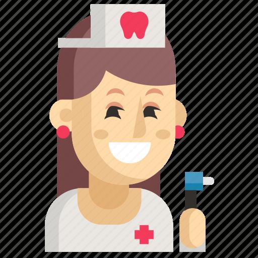 Asia, avatar, dentist, job, profession, woman, work icon - Download on Iconfinder