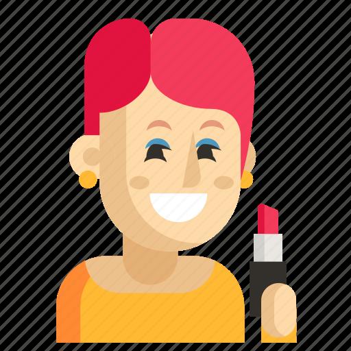 Asia, avatar, job, profession, visagiste, woman, work icon - Download on Iconfinder