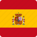 country, european, flag, flags, nation, national, spain icon