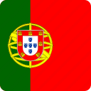 country, european, flag, flags, nation, national, portugal icon
