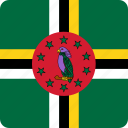 country, dominica, flag, flags, nation, national, world icon