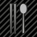 chopstick, cutlery, spoon, utensil icon