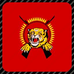 eelam, flag, tamil icon