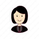 .svg, advogada, asian woman professions, emprego, job, lawyer, mulher, professions, trabalho, work icon