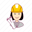.svg, architect, arquiteta, asian woman professions, emprego, job, mulher, professions, project, projeto, trabalho, work icon