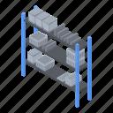 business, cartoon, frame, industrial, isometric, office, rack
