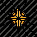 element, fortune, mystical, star icon