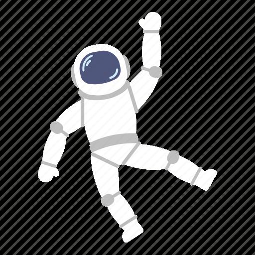 astro, astronaut, hello, hi, man, space, suit icon
