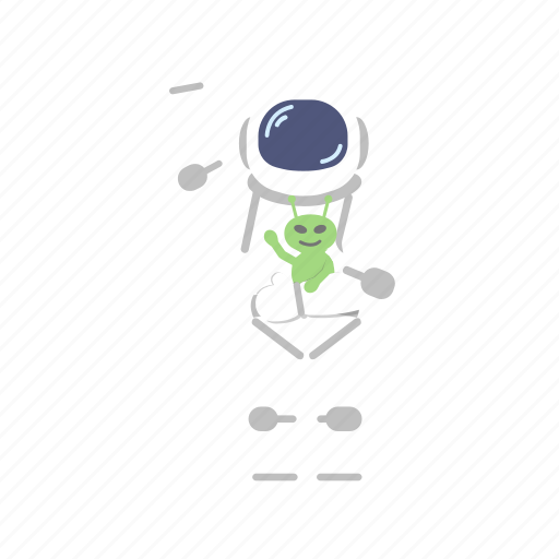 alien, astro, astronaut, man, space, suit icon