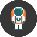 astronaut, astronomy, discovery, galaxy, science, space, technology icon