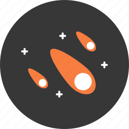 astronomy, comet, science, space, star, technology, universe icon