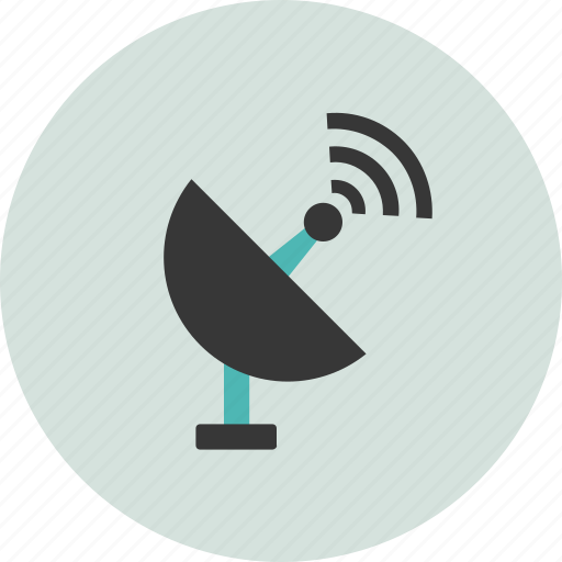 astronomy, radar, satellite, science, signal, space, technology icon