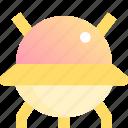 airship, astronomy, spacecraft, spaceship icon