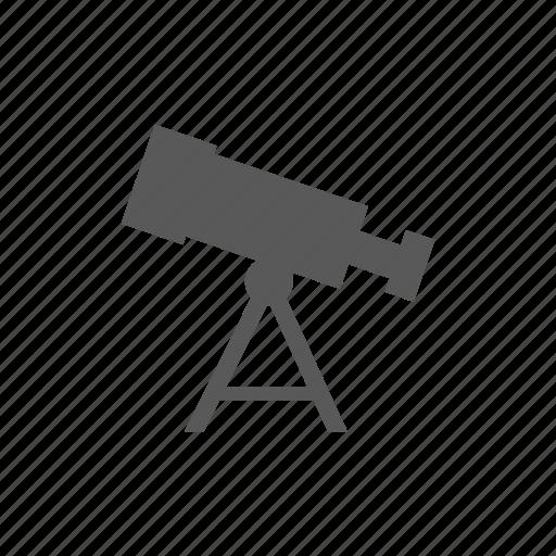 astronomy, science, telescope, view icon