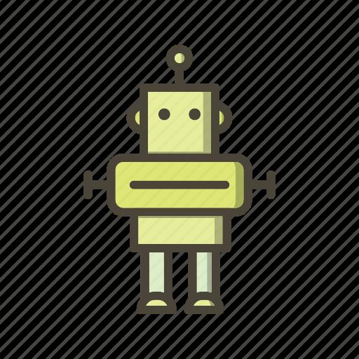 device, electronic, gadget, machine, robot, robotics, technology icon