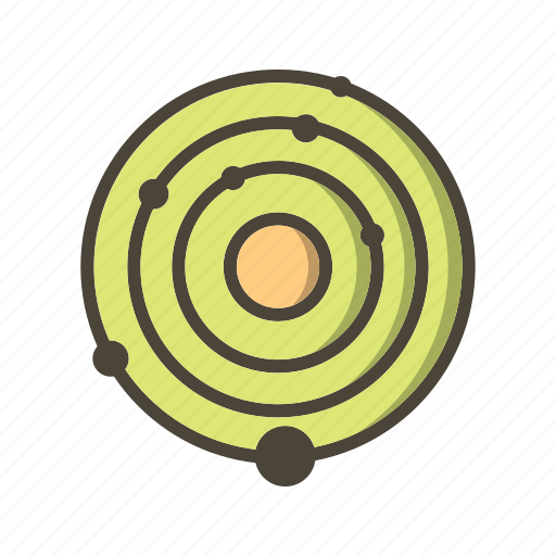 astronomy, galaxy, planet, planets, solar system icon